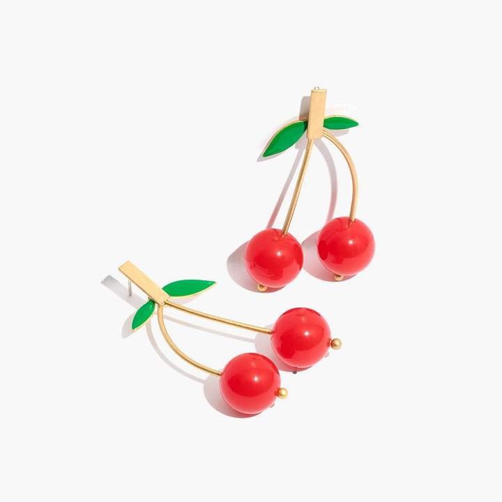 J. Crew Cherry Earrings