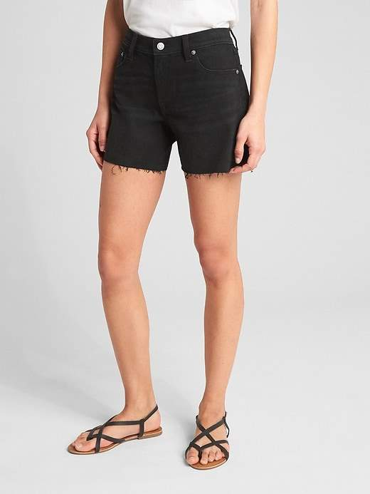 Gap Mid Rise Denim Shorts