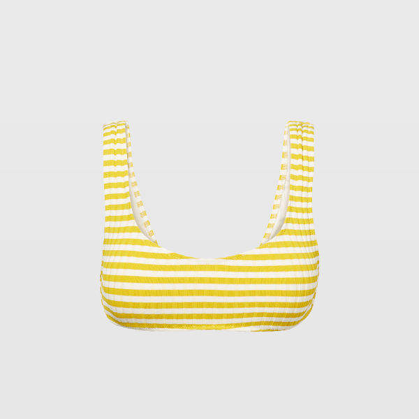 Club Monaco Solid & Striped Elle Top
