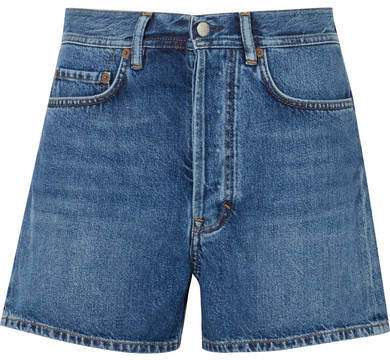 Acne Studios Swamp Denim Shorts Mid denim