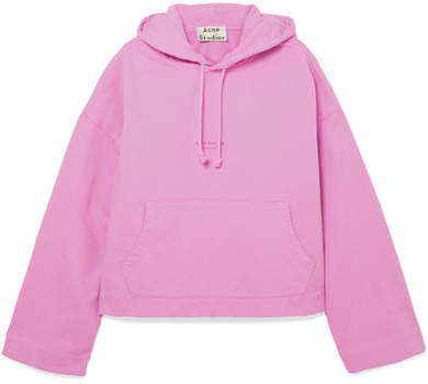 Acne Studios Joggy Printed Cotton-jersey Hooded Top