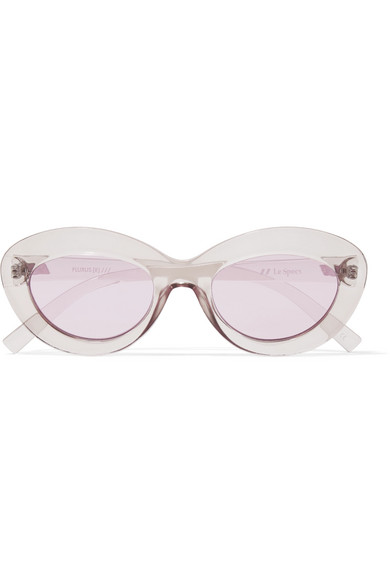 LE SPECS Fluxus cat-eye acetate sunglasses