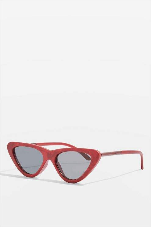 Topshop Point polly cat eye sunglasses
