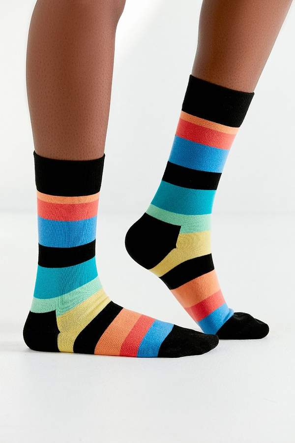 Happy Socks Striped Crew Sock