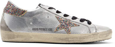 Golden Goose Superstar Glittered