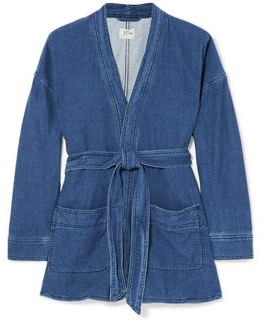 J.Crew Denim Wrap Jacket