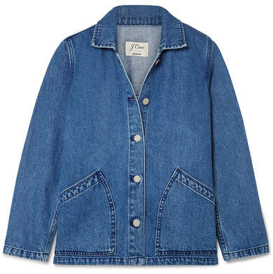 J.Crew Denim Jacket Mid denim