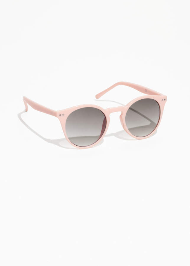 And Other Stories Rounded Sunglasses