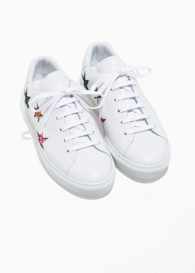 And Other Stories Star Lace-Up Sneakers