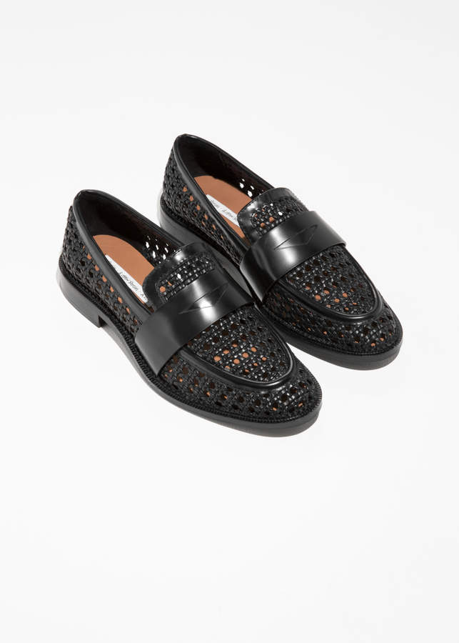 & Other Stories Woven Loafers