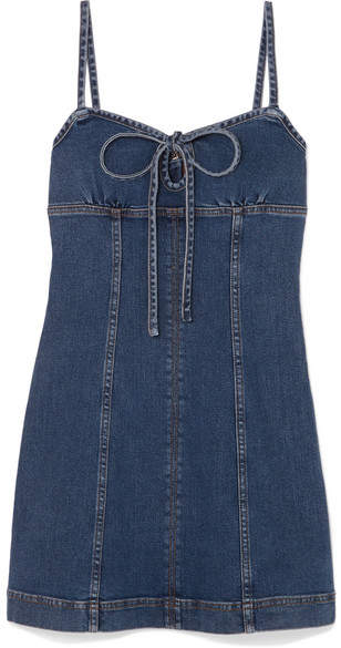 ALEXA CHUNG Denim Mini Dress