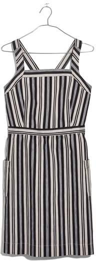 Madewell Apron Button Back Minidress