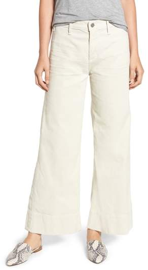 Citizens of Humanity Abigal High Waist Ankle Wide Leg Corduroy Pants
