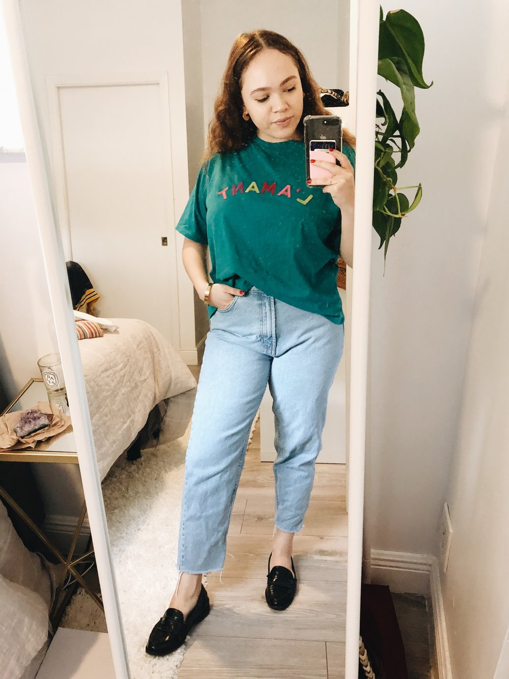 jeans & a tee