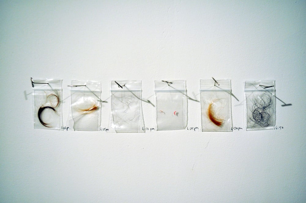 DNA from audience of performance (2012)