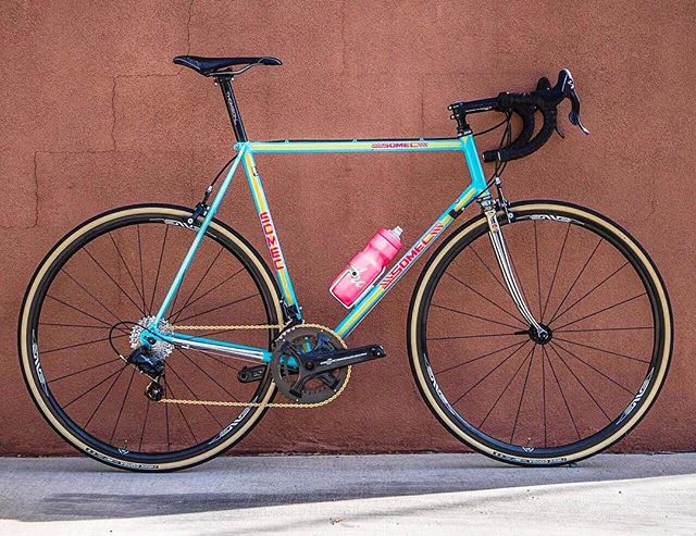 Look at this nastiness from @regroup_coffeeandbicycles. What an amazing mix of classic and modern. Stunner.