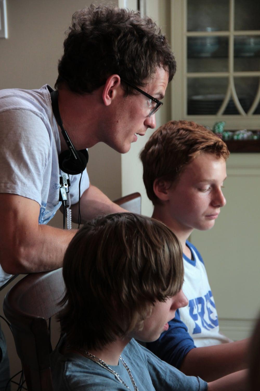 Andrew Cividino Nick Serino (Nate) Jackson Martin (Adam) Games Day.jpg