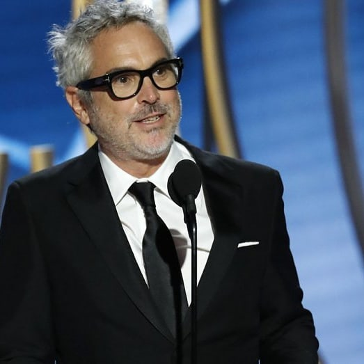 Congratulations to Alfonso Curón for winning Best Director tonight at the @goldenglobes!  @romacuaron