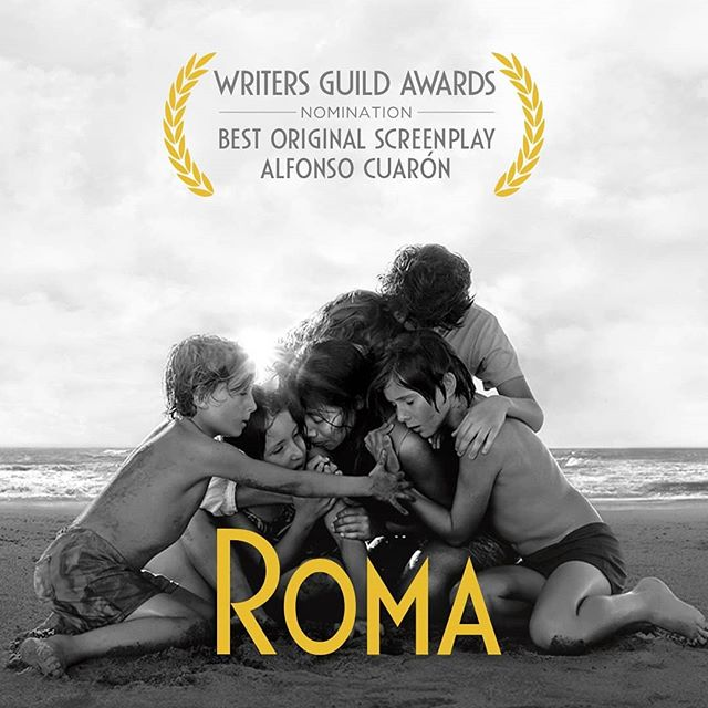 More accolades for @romacuaron - watch it now on Netflix, or at a theatre near you (check local listings). This is one you will NOT want to miss.