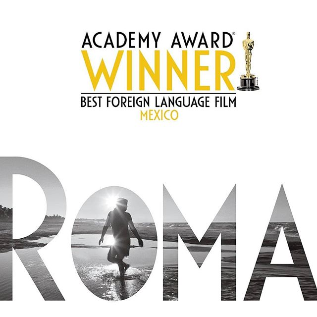 An exciting night for @romacuaron!