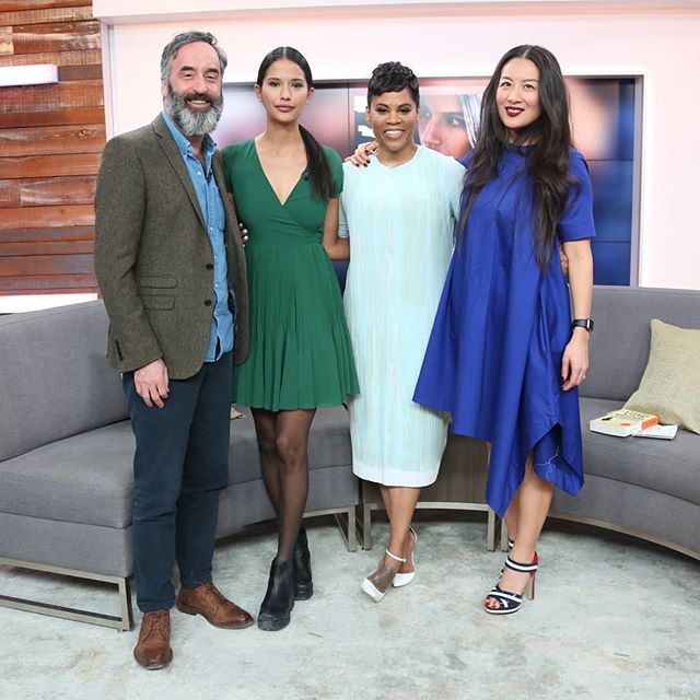 Thanks for having us on yesterday, @thesocialctv!  @throughblackspruce opens on Friday
