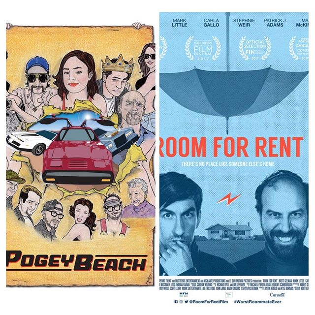 We are so excited for POGEY BEACH and @roomforrentmovie! These hilarious films have both been nominated for the @cca_instagram Awards!  Check them out now on iTunes!!