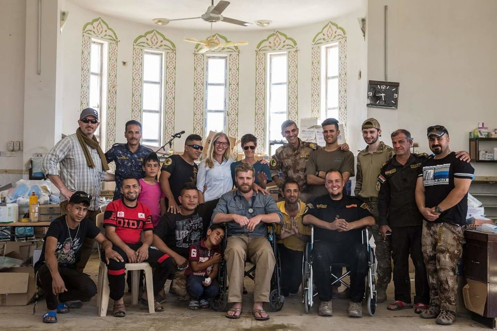Global Response Management Team Photo in Iraq