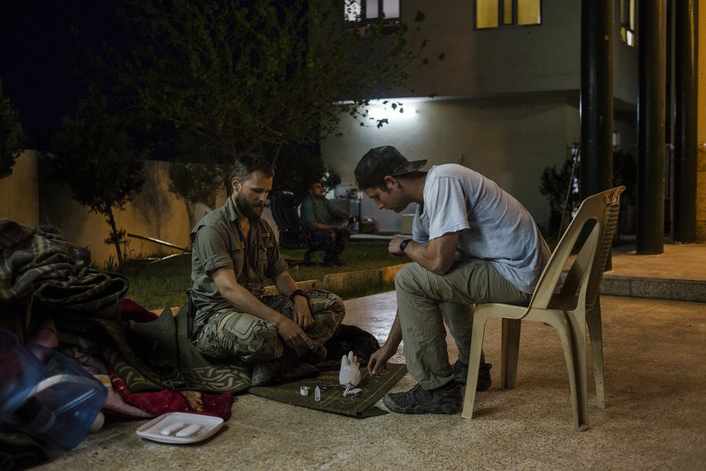 Downtime during the Global Response Management's operation in Iraq