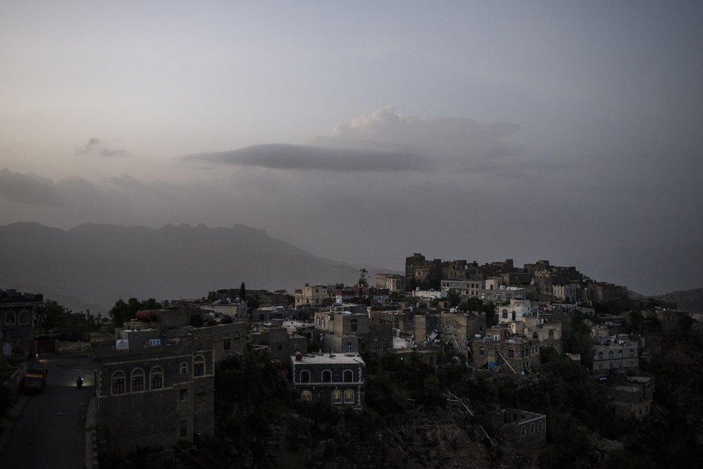 Yemen Hilltop Town