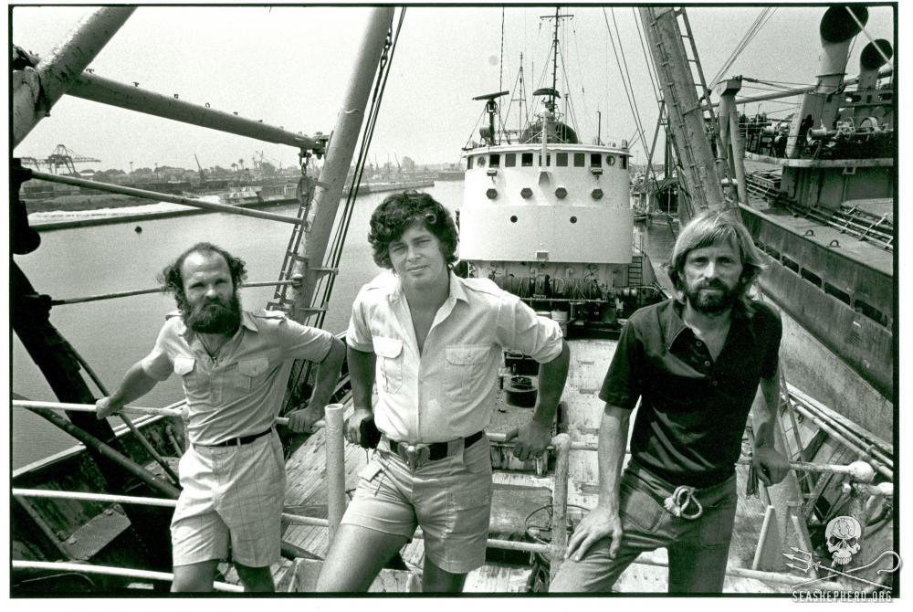 Sea Shepherd Crew, 1979