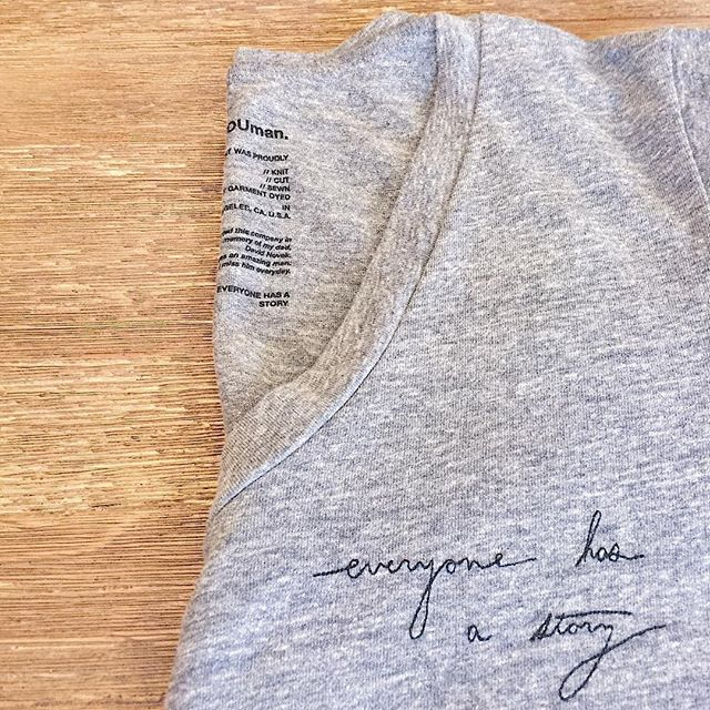 Good hYOUman has arrived for spring, and we're excited about their new pieces! We've got some colour (!!), but the favourite so far is this embroidered tee. Stop by this weekend to see what's new! It's officially our last weekend of SALE, so we have huge markdowns on winter clothing and some sale SAXX too. 🌸🎉