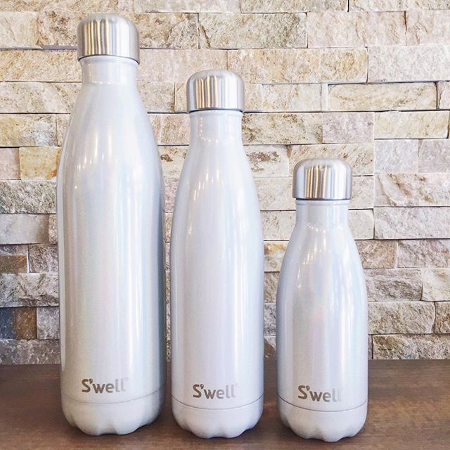 Our NEW S'Well colours have been a hit and we've restocked today. My favourite is the 'Milky Way' shimmer bottles, and we've got all 3 sizes! 💫