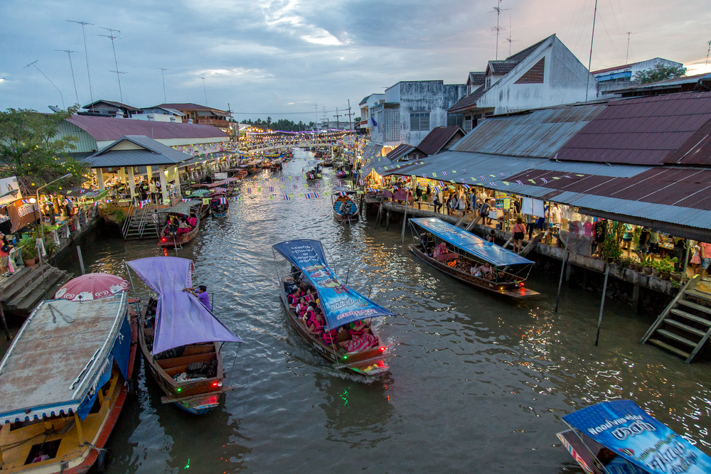 Waterway in Amphawa