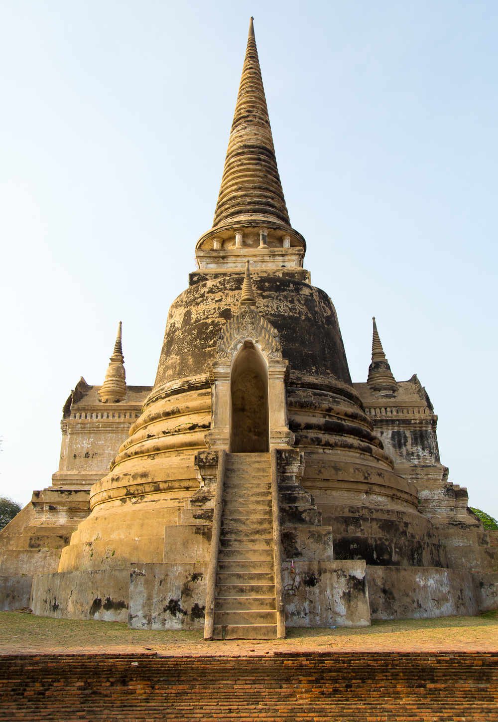 One of the three spires at Wat Phra Sri Sanphet.