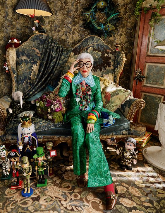 Iris Apfel, 94 years young