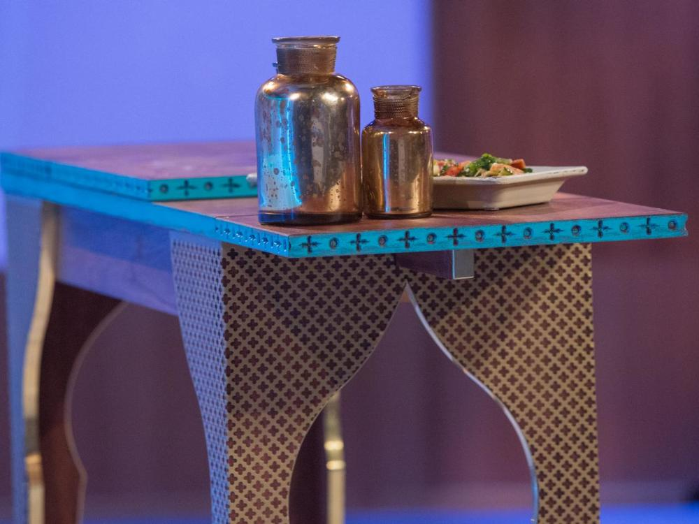 Marrakesh Table: Challenge 4