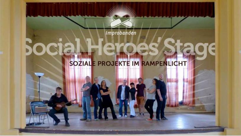 social heroes stage