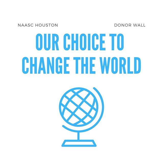 """Can't make it to our #GameChangers luncheon? No worries! All donors who make a donation of at least $100 will be featured on our beautiful """"Our Choice to Change the World"""" #DonorWall • • • Visit the link in our bio and select 'donate' to make your tax deductible donation today!"""