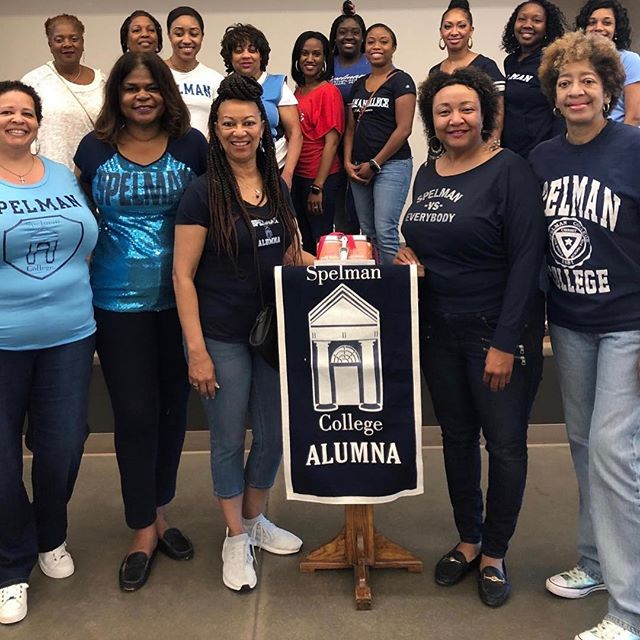 Our #NAASCHouston Day of Service at @starofhopemission was well attended. Houston area alumnae celebrated Spelman's birthday with a wonderful service activity led by our sister, Ms. Pearl Black. 💙  Historically, our chapter uses Founders Day weekend for our annual scholarship brunch, but this year we are striving to provide more scholarships for Houston area students attending Spelman. This year our scholarship luncheon will be held Friday, May 31st at the Intercontinental Hotel-Medical Center. Tickets are on sale now, and tax-deductible donations are accepted as well! Link in bio.