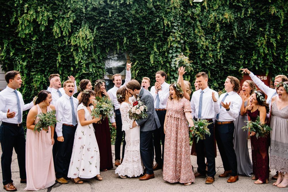 boho BHLDN bride