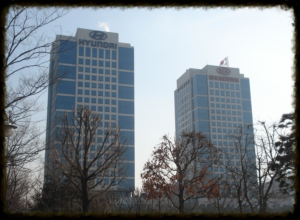 The Hyundai Motor and Kia Motors HQ in Seoul, my home for three years.