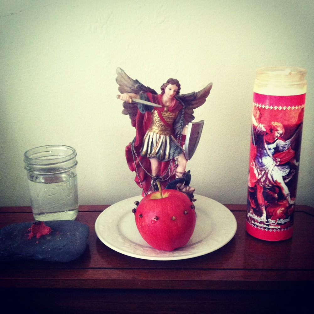 Offering to St. Michael
