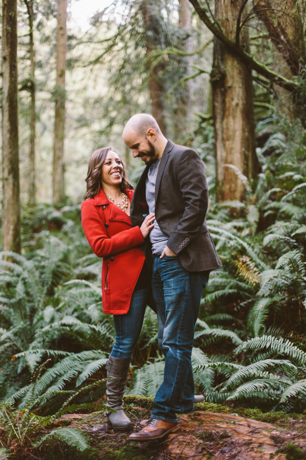 Snoqualmie Falls Engagement