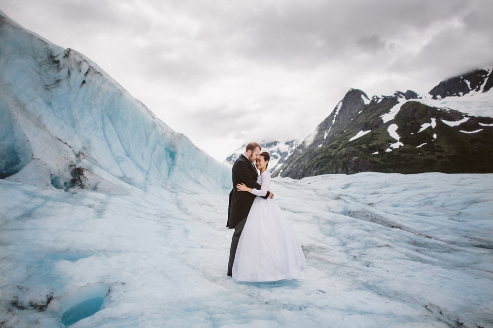 Alaskan Glacier Wedding