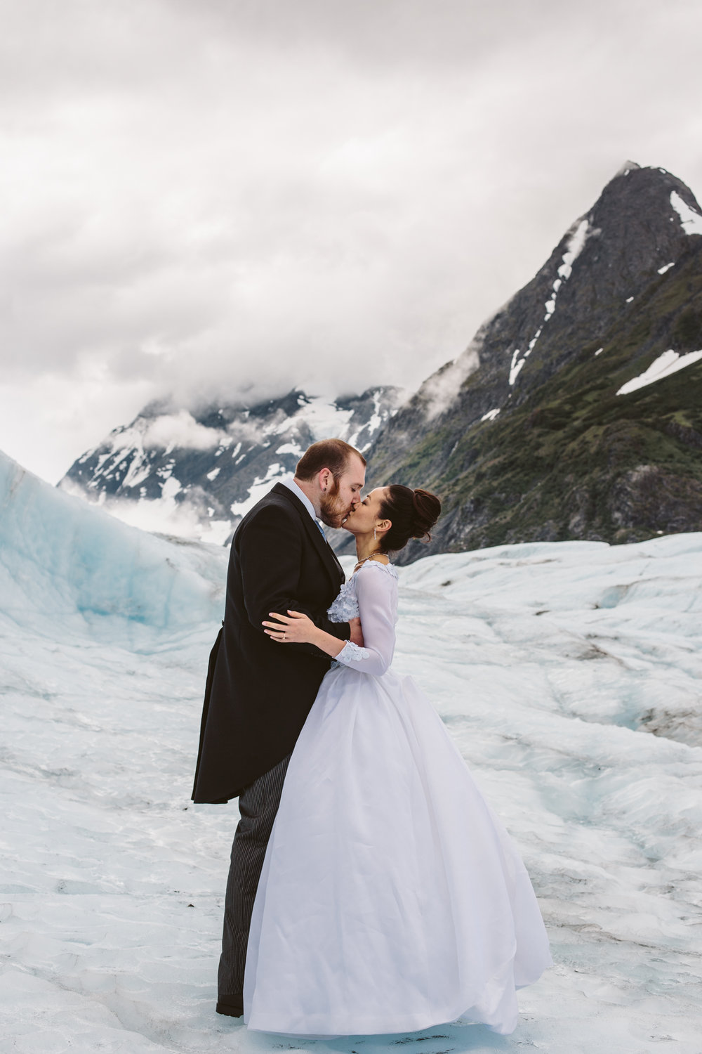Glacier Wedding Photos