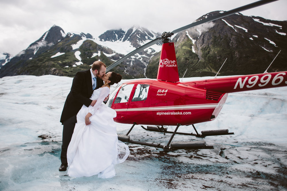 Alpine Air Alaska Wedding