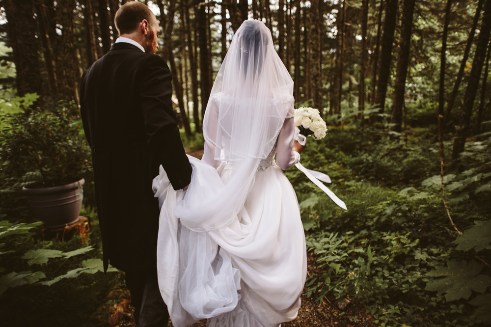 Alaskan Wedding Photo
