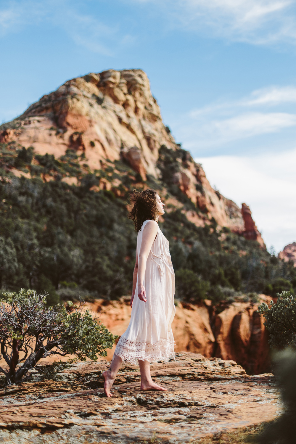 Sedona Outdoor Boudoir