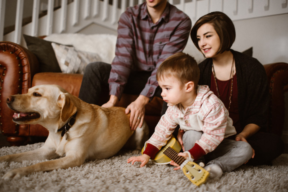 Anchorage Alaska Lifestyle Family In-Home Session
