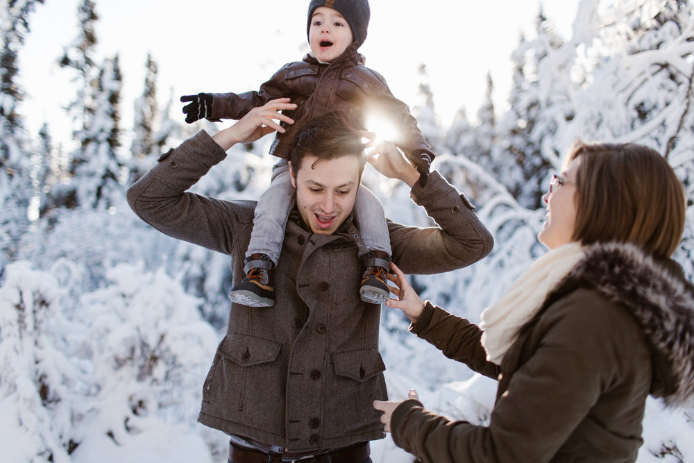 Anchorage Alaska Lifestyle Family Session